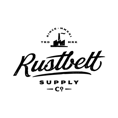 Hipster American Vintage Clothing Company in the Rustbelt