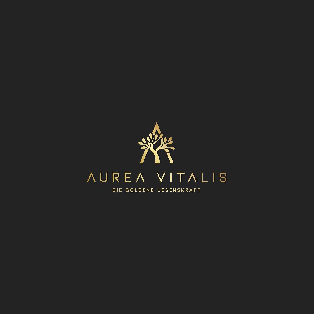 """Logo und Website für """"AUREA VITALIS"""" - Die Goldene Lebenskraft"""