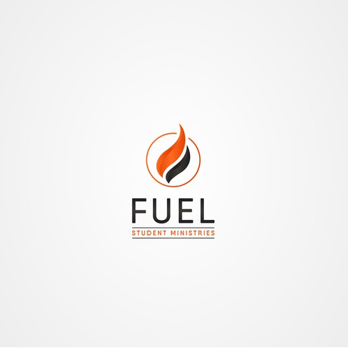 "Abstract logo for youth organization in Florida named ""FUEL STUDENT MINISTRIES"""