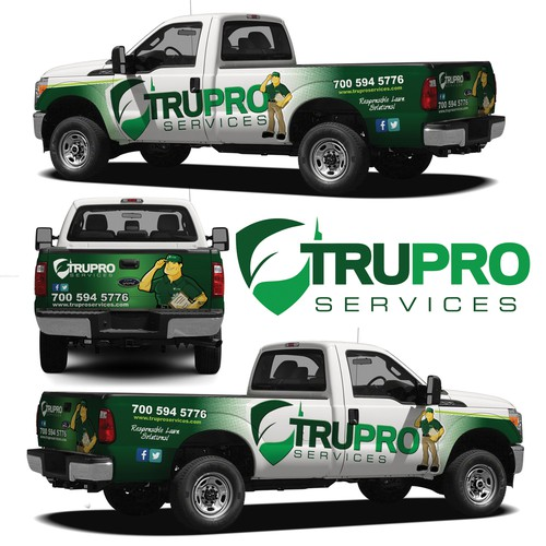 Create a Clean/Crisp Truck Wrap