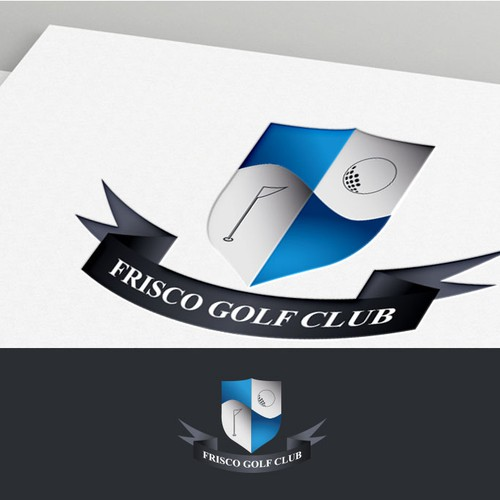 high-end logo for golf course and resort!