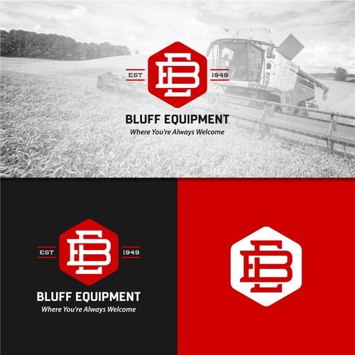 Logo Concept for Farm Equipment Shop