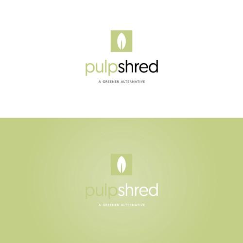 Pulp Shred branding