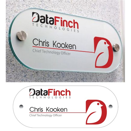 DataFinch office placard