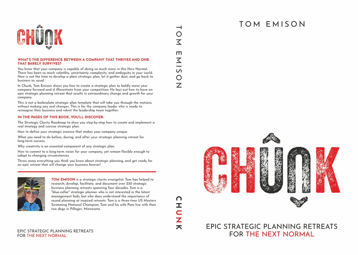 Cover for book on creating a strategic plan to move a company forward and stand out from competitors