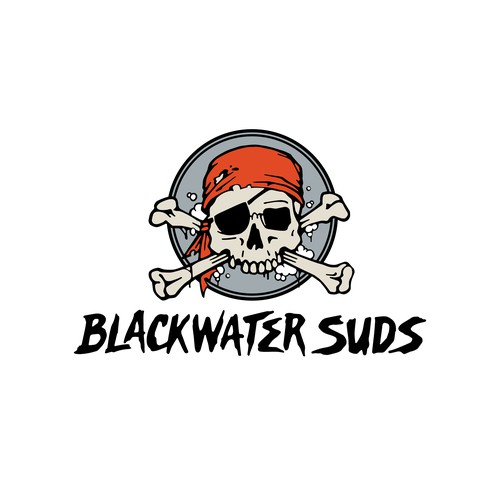 Logo concept for BLACKWATER SUDS