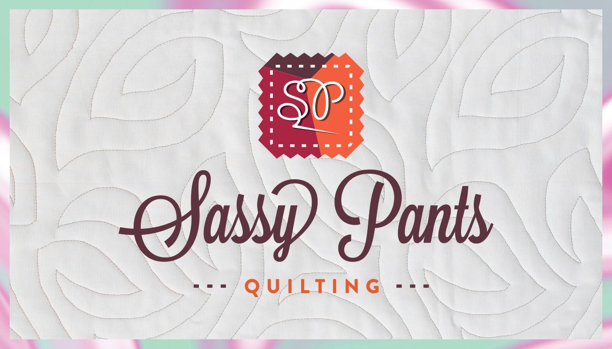 revised business cards for Sassy Pants Quilting