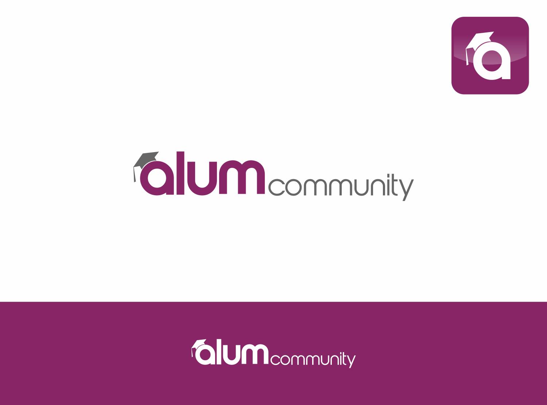 logo for Alum Community