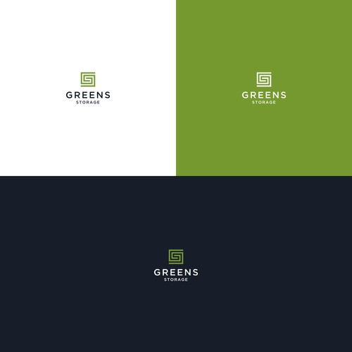 G and S one logo for green storage