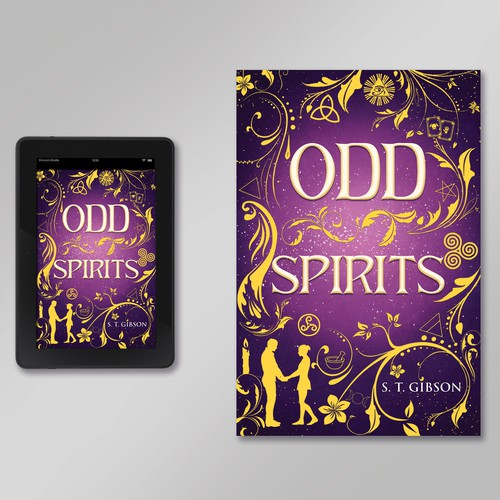 Book cover about Odd Spirits