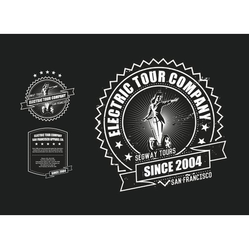 T shirt design for guests at San Francisco Segway Tours