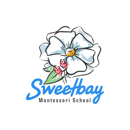 Logo concept for Sweetbay Montessory School