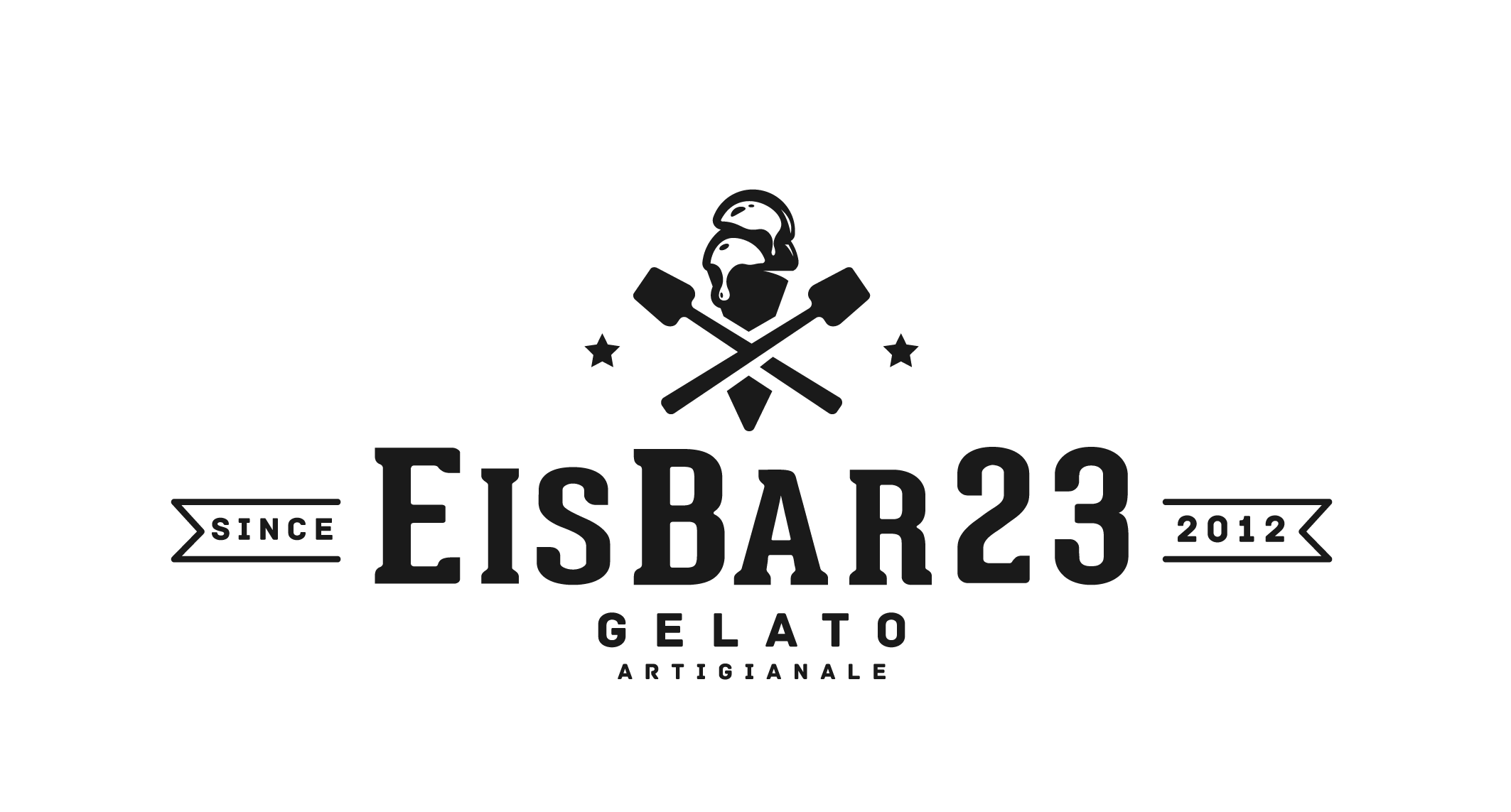 We are searching a new Logo for our new gelateria which have an industrial Style (Equipment in cement, Wood and Steel)