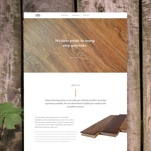 Website Design for a Flooring Company