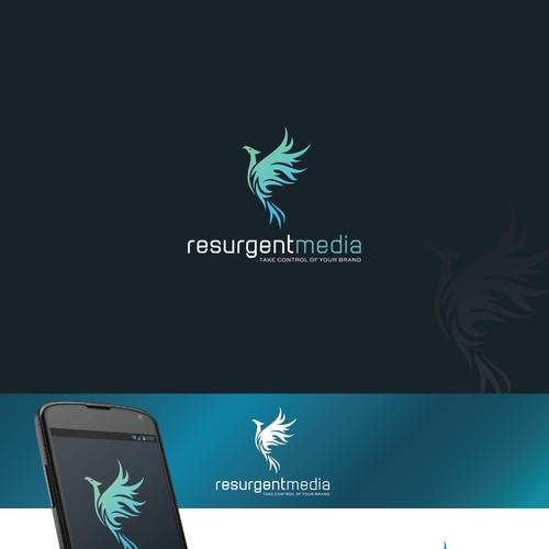 Resurgent media logo