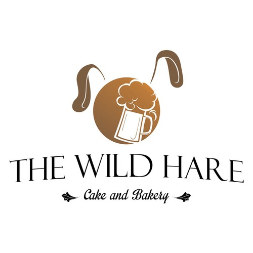 Design a logo for The Wild Hare Cafe and Bakery