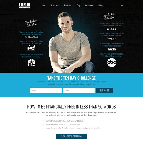 Freedom Fast Website Design
