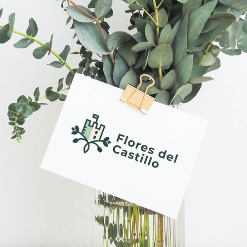 Flores del Castillo - Modern Logo & Brand Identity Design