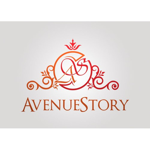 Create the next logo and business card for AvenueStory