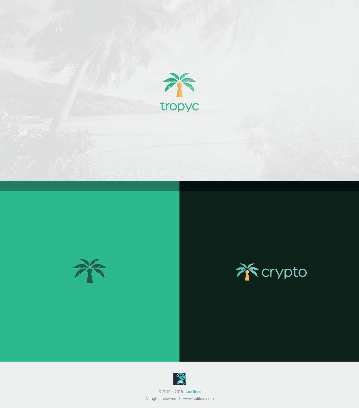 Tropyc Logo Design