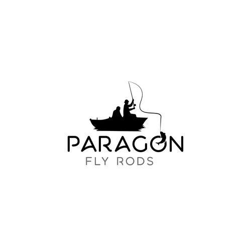 Logo design for paragon fly rods