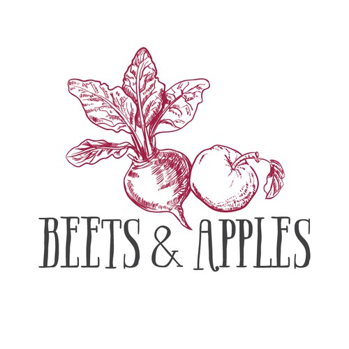 logo for beets and apples