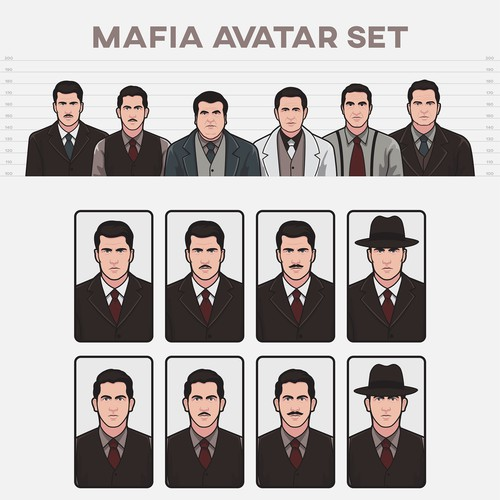 Avatar Set for Mafia Game
