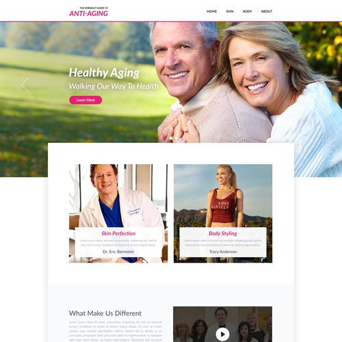 Home Page for Anti-Aging