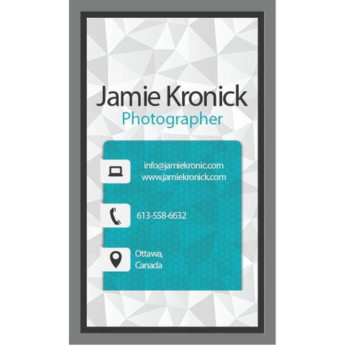 Slick Business Card Design