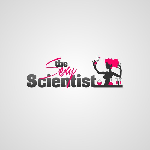 the Sexy Scientist needs you to design her a logo!