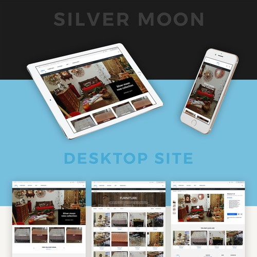 Website for Silver Moon