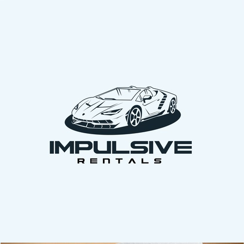 Logo concept for impulsive rentals