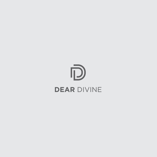 simple logo for Dear Divine