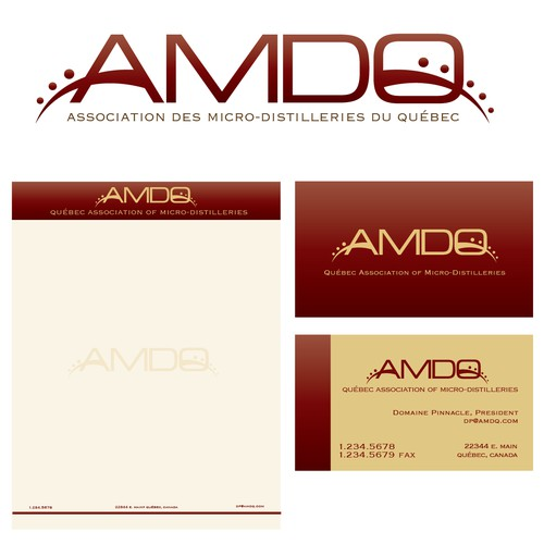Help AMDQ with a new logo and business card