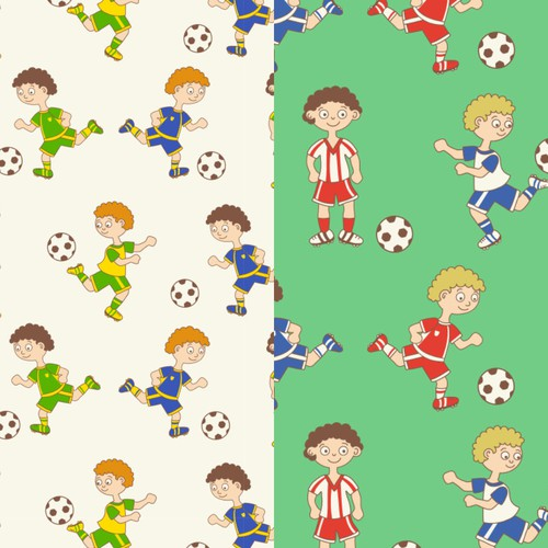 Football seamless patterns