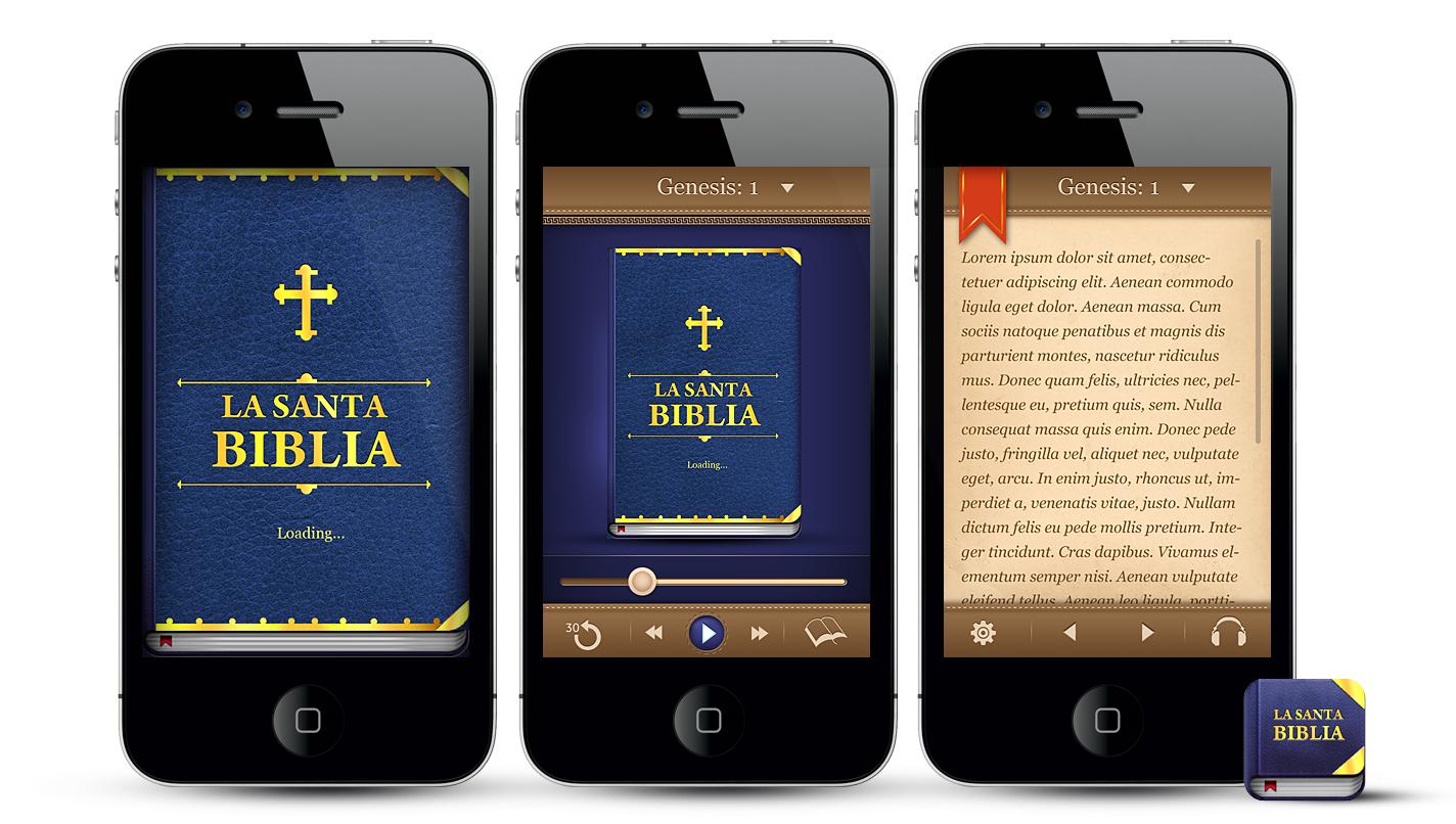 Help La Biblia Reina Valera LLC with a new icon or button design