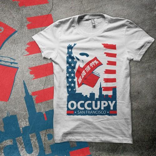 Occupy SF T-shirt Design