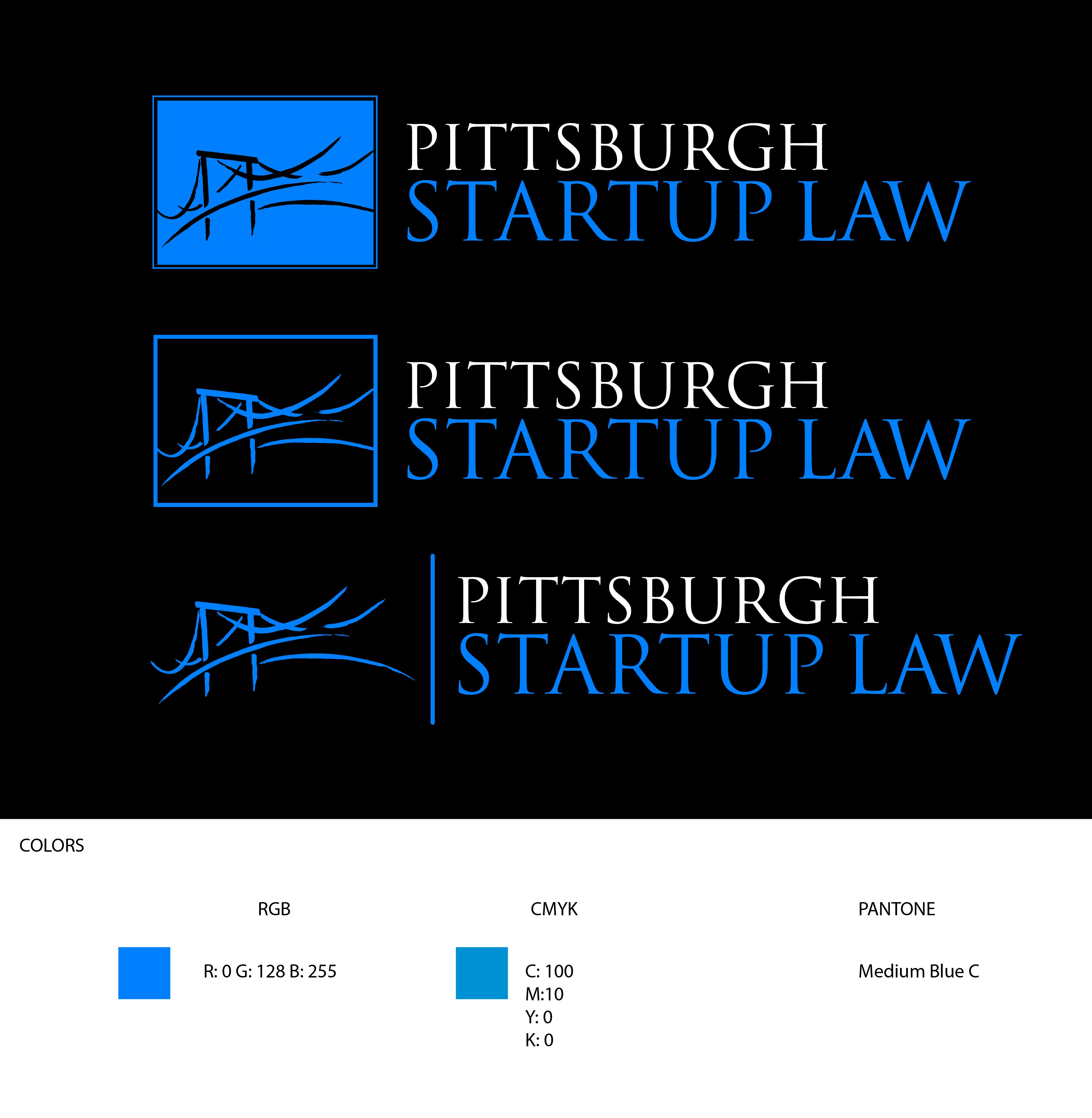 Logo redesign for company focused on startup legal services