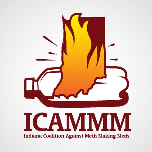 Create a logo to help stop meth in Indiana!