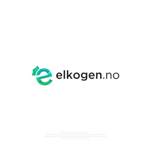 Elkogen.no logo design