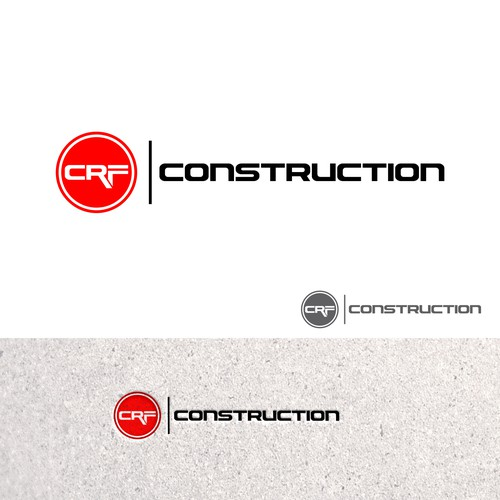 Bold Logo Concept for CRF CONSTRUCTION