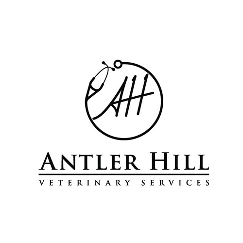 Logo winner for antler hill
