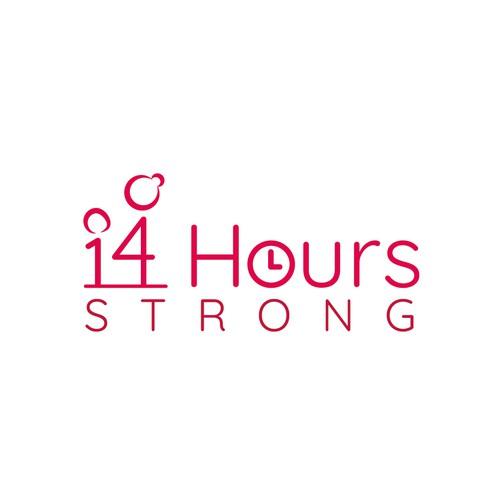 '14 Hours Strong' Logo Design Concept