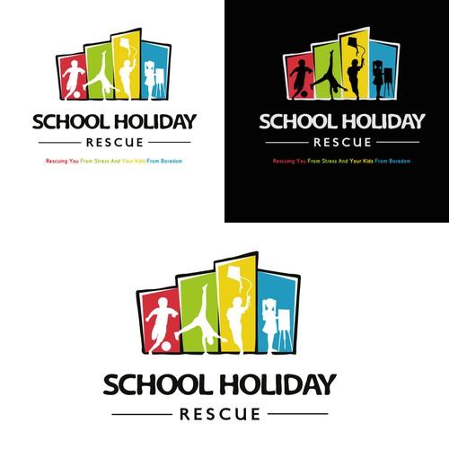 Design a logo for Australia's #1 School Holiday website for parents