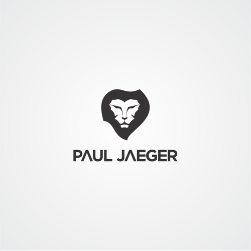 this logo for paul jaeger. lion is the king of forest. strong and elegant in many animals. hope this can winner in contest paul jaeger :)