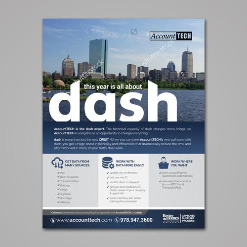 AccountTech Print Advert