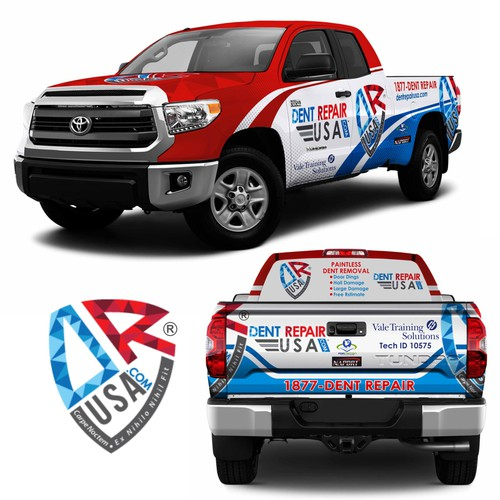 2014 Toyota Tundra Double Cab: Dent Repair USA Wrap