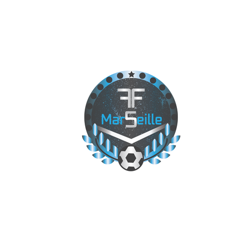 Logo concept for an futbol futbol team