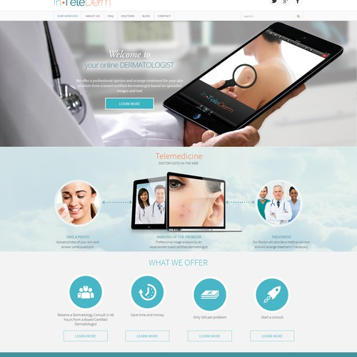 Telemedicine Website Design