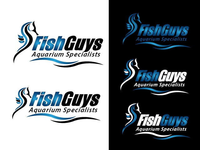 Fish Guys aquarium maintenance is looking for a new sea horse logo!!